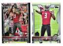 2015 Topps Super Bowl 50th Anniversary Football Team Set - TAMPA BAY BUCCANEERS