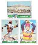 1979 Topps B EX+ Condition - HOUSTON ASTROS Team Set