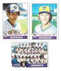 1979 Topps B EX+ Condition - MILWAUKEE BREWERS Team Set
