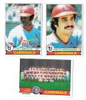 1979 Topps B EX+ Condition - ST LOUIS CARDINALS Team Set