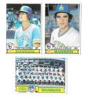 1979 Topps B EX+ Condition - SEATTLE MARINERS Team Set