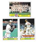1979 Topps B EX+ Condition - BALTIMORE ORIOLES Team Set