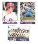 1979 Topps B EX+ Condition - PHILADELPHIA PHILLIES Team Set