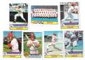 1979 Topps B EX+ Condition - CINCINNATI REDS Team Set