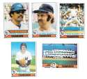 1979 Topps B EX+ Condition - NEW YORK YANKEES Team Set