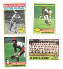 1976 Topps B EX Condition - ST LOUIS CARDINALS Team Set