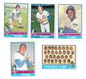 1976 Topps B EX Condition - CHICAGO CUBS Team Set