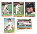 1976 Topps B EX Condition - SAN FRANCISCO GIANTS Team Set