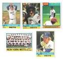 1976 Topps B EX Condition - NEW YORK METS Team Set