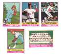 1976 Topps B EX Condition - PHILADELPHIA PHILLIES Team Set