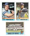 1976 Topps B EX Condition - KANSAS CITY ROYALS Team Set