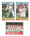 1976 Topps B EX Condition - CHICAGO WHITE SOX Team Set