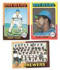 1975 Topps C EX Condtion - MILWAUKEE BREWERS Team Set
