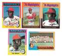 1975 Topps C EX Condtion - ST LOUIS CARDINALS Team Set