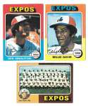 1975 Topps C EX Condtion - MONTREAL EXPOS Team Set