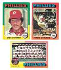 1975 Topps C EX Condtion - PHILADELPHIA PHILLIES Team Set