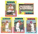 1975 Topps C EX Condtion - CINCINNATI REDS Team Set