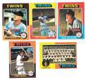 1975 Topps C EX Condtion - MINNESOTA TWINS Team Set