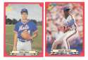 1988 Classic Red - NEW YORK METS Team Set