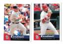 2007 Fleer (1-430) - ST LOUIS CARDINALS Team Set