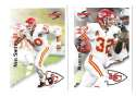 1995 Score Football Team Set - KANSAS CITY CHIEFS