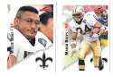 1995 Score Football Team Set - NEW ORLEANS SAINTS