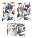 1995 Score Football Team Set - SEATTLE SEAHAWKS