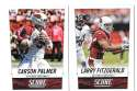 2014 Score Football Team Set - ARIZONA CARDINALS