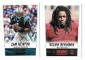 2014 Score Football Team Set - CAROLINA PANTHERS