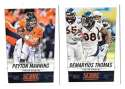 2014 Score Football Team Set - DENVER BRONCOS