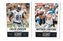2014 Score Football Team Set - DETROIT LIONS