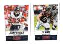 2014 Score Football Team Set - HOUSTON TEXANS