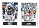 2014 Score Football Team Set - INDIANAPOLIS COLTS