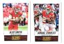 2014 Score Football Team Set - KANSAS CITY CHIEFS