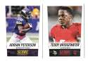 2014 Score Football Team Set - MINNESOTA VIKINGS