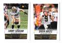 2014 Score Football Team Set - NEW ORLEANS SAINTS