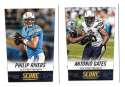 2014 Score Football Team Set - SAN DIEGO CHARGERS