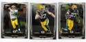 2014 Topps Chrome MINI Football Team Set - GREEN BAY PACKERS