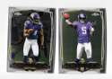 2014 Topps Chrome MINI Football Team Set - MINNESOTA VIKINGS