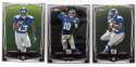 2014 Topps Chrome MINI Football Team Set - NEW YORK GIANTS