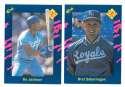 1990 Classic Blue - KANSAS CITY ROYALS Team Set