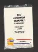 1993 Fleer Procards Minor League Team Set - Edmonton Trappers (Marlins)