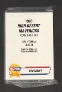 1993 Fleer Procards Minor League Team Set - High Desert Mavericks (Marlins) Carl Everett