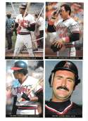 1983 Topps Foldouts (Hand Cut) - CALIFORNIA ANGELS Team set
