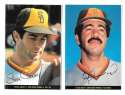 1983 Topps Foldouts (Hand Cut) - SAN DIEGO PADRES Team Set