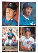 1983 Topps Foldouts (Hand Cut) - CHICAGO CUBS Team Set