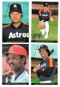 1983 Topps Foldouts (Hand Cut) - HOUSTON ASTROS Team set
