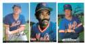 1983 Topps Foldouts (Hand Cut) - NEW YORK METS Team Set