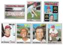 1970 Topps - VG+EX Condition B PHILADELPHIA PHILLIES Team Set