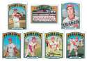1972 TOPPS EX PHILADELPHIA PHILLIES Team Set
